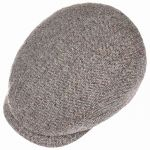 Belfast Silk Flat Cap anthracite