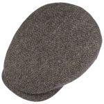 Belfast Classic Wool Flatcap dunkelbraun