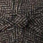 Casquette Plano Wool Cap marron foncé