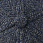 Casquette Plano Wool Cap bleu foncé