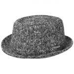 Oldmar Donegal Pork Pie Hat black