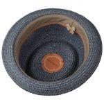 Robstown Toyo Pork Pie Hat blue