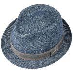 Reidton Toyo Trilby Straw Hat blue