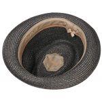 Reidton Toyo Trilby Straw Hat anthracite