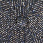 Ore Colour Spots Flat Cap blauw