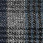 Belfast Classic Wool Check Flat Cap blue