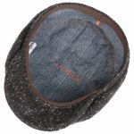 Brooklin Donegal Flat Cap dark brown
