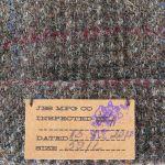 Harris Tweed Vangordon Dockermuts grijs