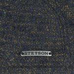 Wool & More Flatcap dunkelblau-meliert