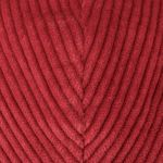 Kent Classic Corduroy Flat Cap red