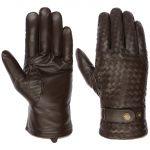 Sheep Nappa Leather Gloves dark brown