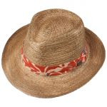 BBQ Western Raffia Hat nature