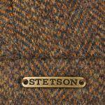 Hatteras Wool Flatcap mit Ohrenklappen braun-meliert