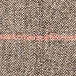 Madison Wool Stripes Flat Cap beige-mottled
