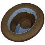 Palamo Traveller Panama Hat brown