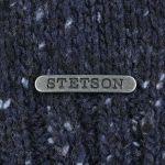 Écharpe en Tricot Hagen bleu-moucheté