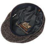 Precious Wool Mix Flat Cap brown-mottled