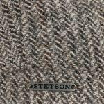 Hatteras Herringbone Wool Flatcap grau