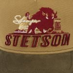 Stronger Bison Trucker Cap bordeaux