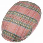 Kent Gormick Check Flatcap rot-meliert