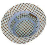 Bolcott Bucket Check Cloth Hat light blue