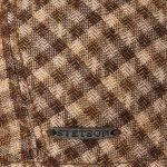 Talcott Seide-Wolle Flatcap braun