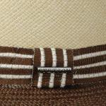 Milo Twotone Panamahut natur-braun