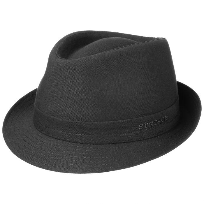 Teton Cloth Trilby Hat black