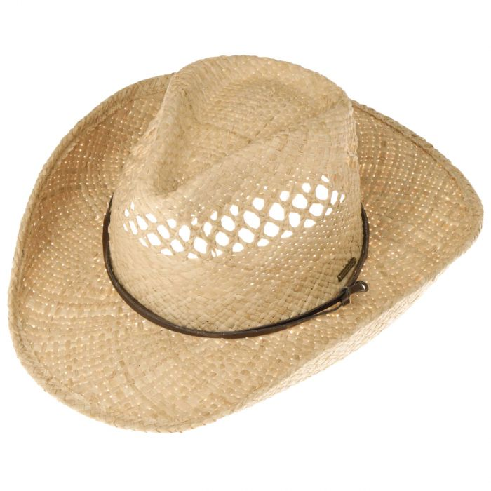Larimore Raffia Cowboyhut natur