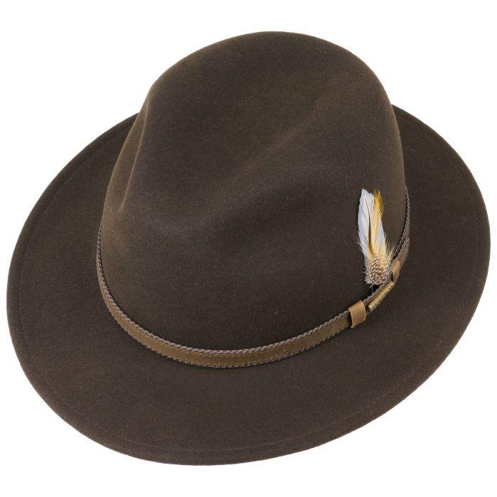 Rocklin VitaFelt Traveller Hat brown