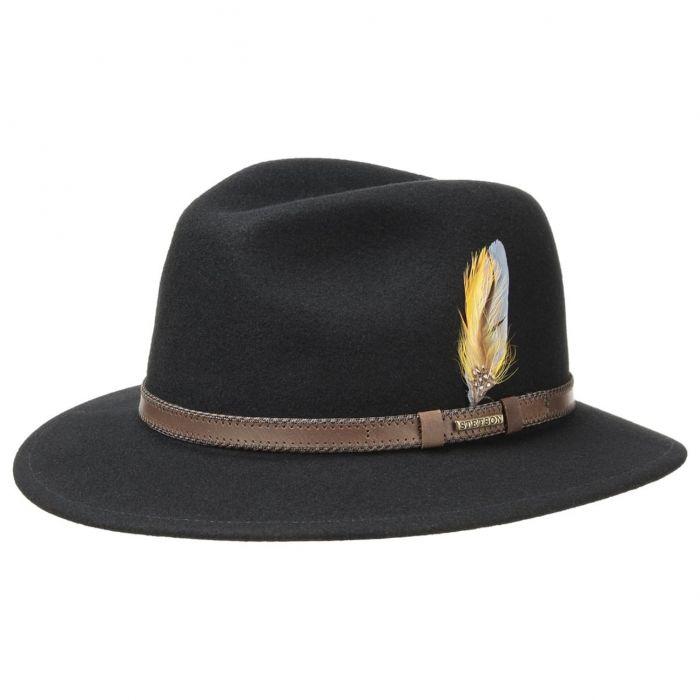 Rocklin VitaFelt Traveller Hat black
