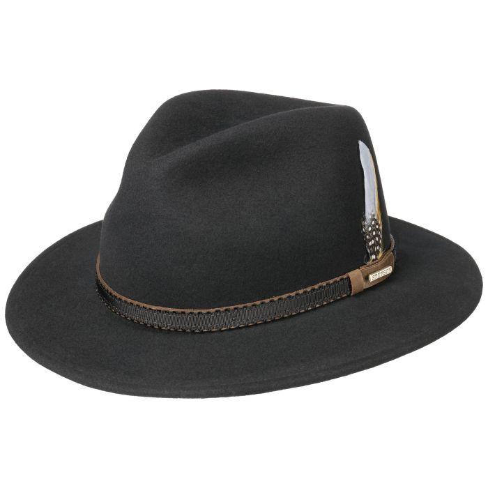 Valrico VitaFelt Traveller Hat black