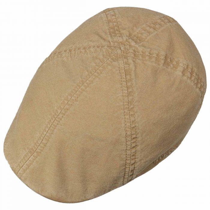 Texas Organic Cotton Flat Cap beige