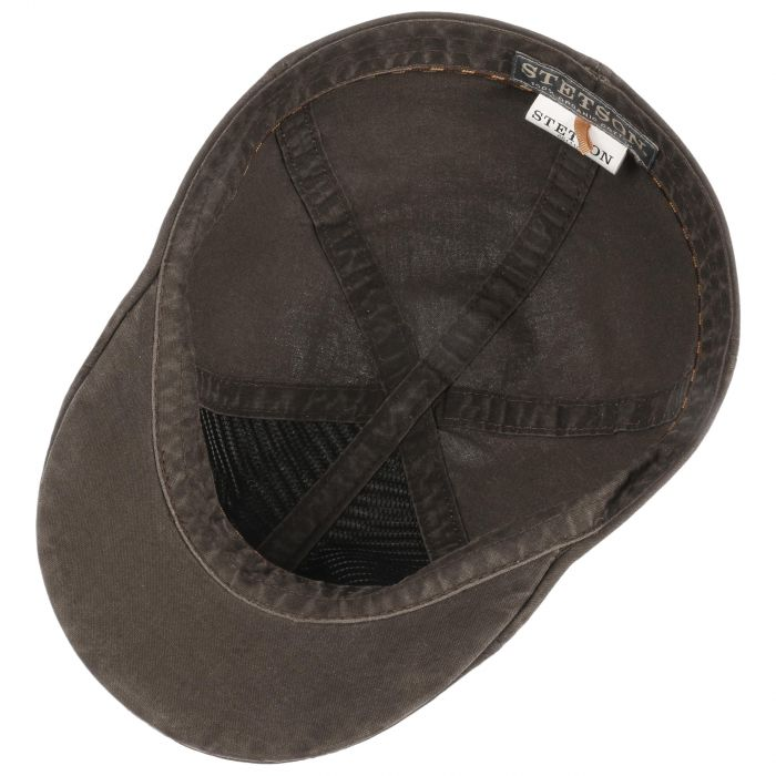 Texas Organic Cotton Flat Cap bruin
