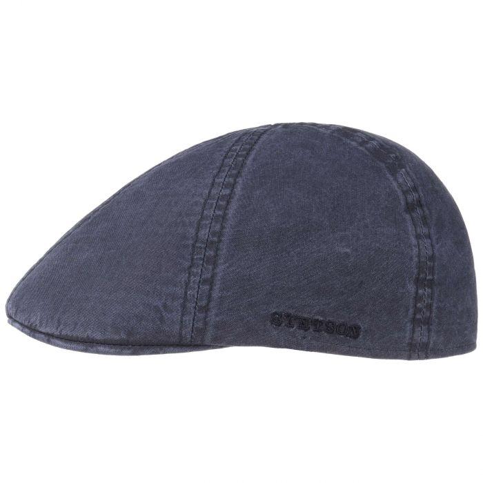 Texas Organic Cotton Flat Cap blauw
