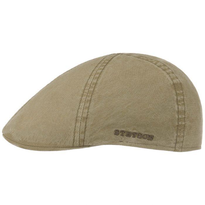 Texas Organic Cotton Flat Cap donkerbeige