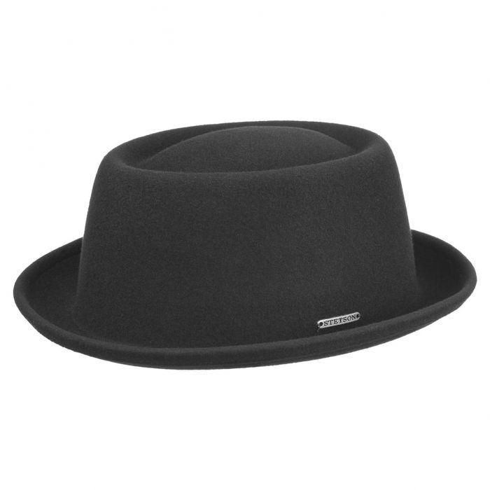 Cameron VitaFelt Pork Pie Hat black