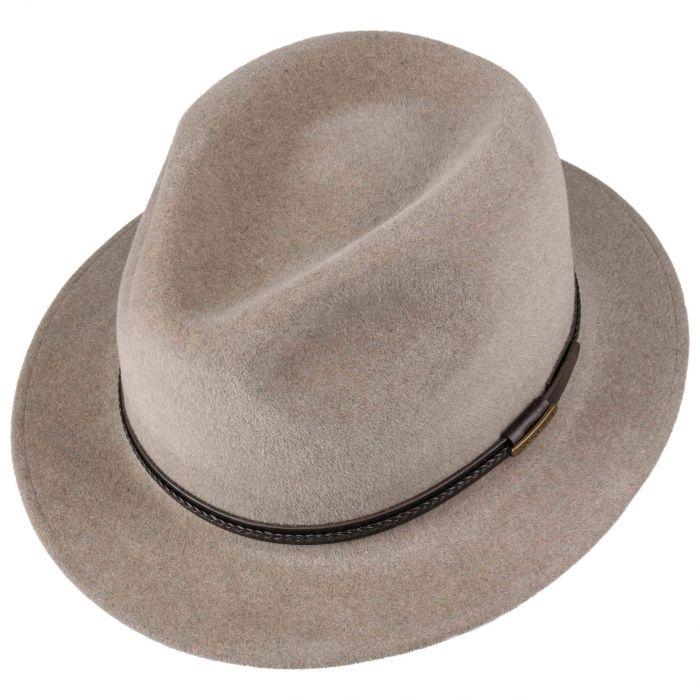 Inglewood Fur Felt Hat beige