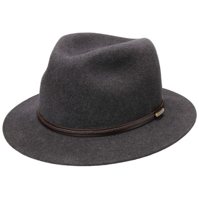 Inglewood Fur Felt Hat anthracite