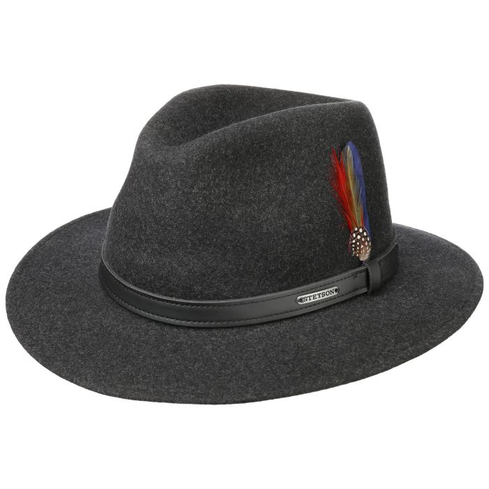 Powell Traveller Felt Hat anthracite