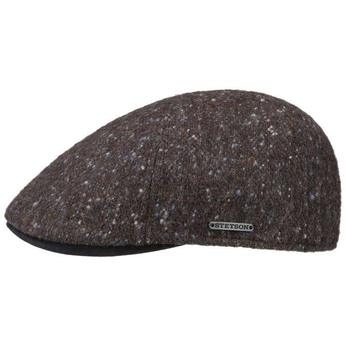 Stetson Texas Denim Duckbill Flat Cap Men Caps flat hat cotton cap Summer