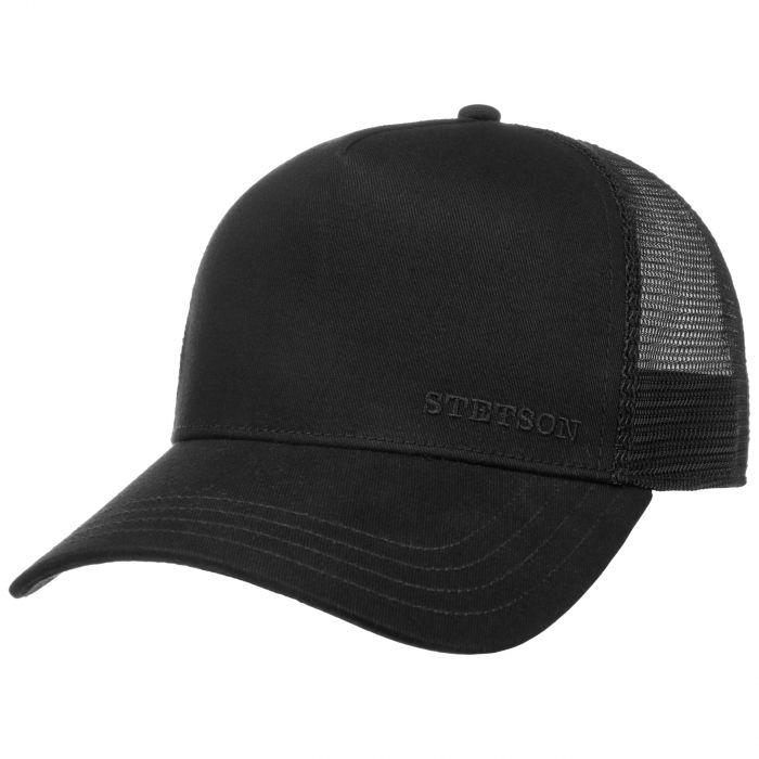 Classic Cotton Trucker Cap schwarz