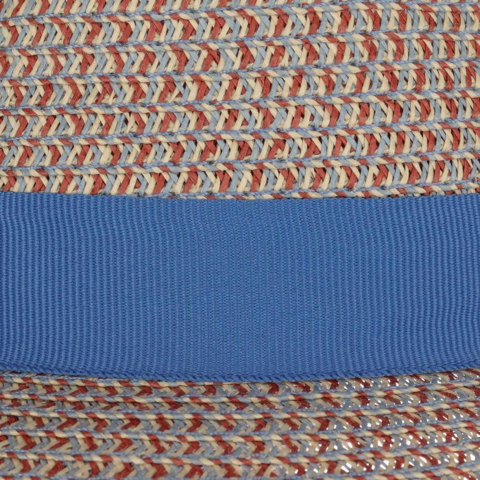 Contrast Colour Trilby Toyohoed blauw-beige