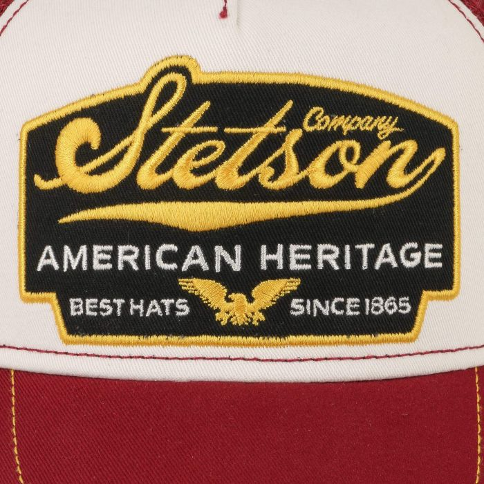 American Heritage Trucker Cap bordeaux
