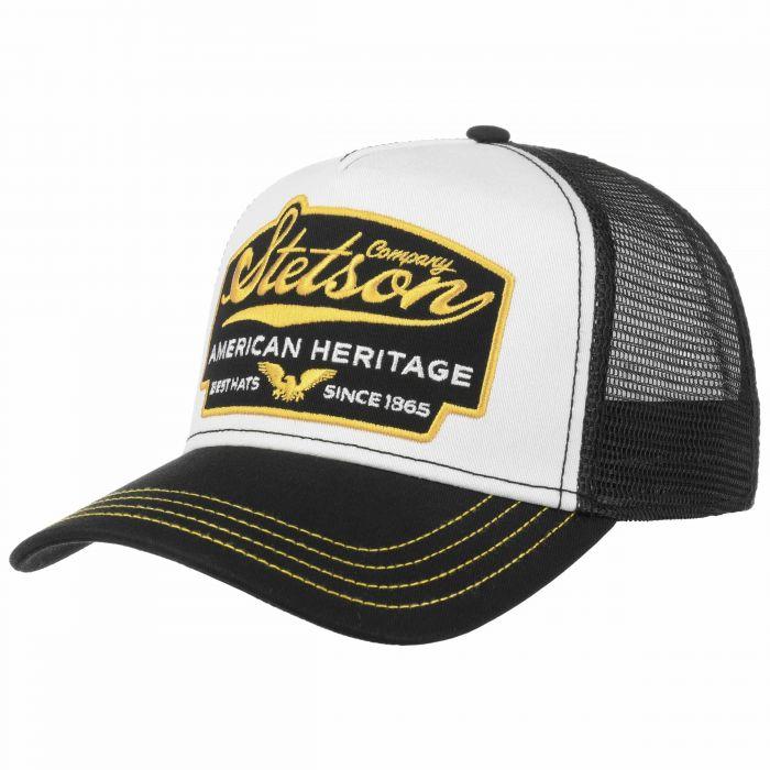American Heritage Trucker Cap black