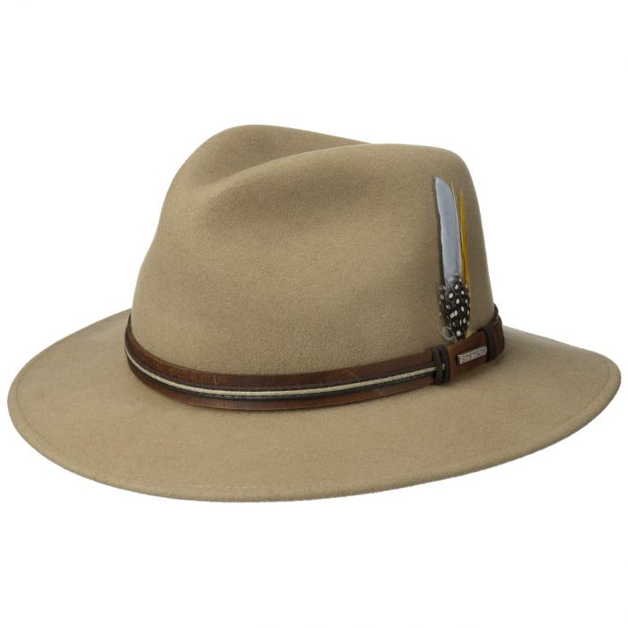 Luke Traveller VitaFelt Hat beige