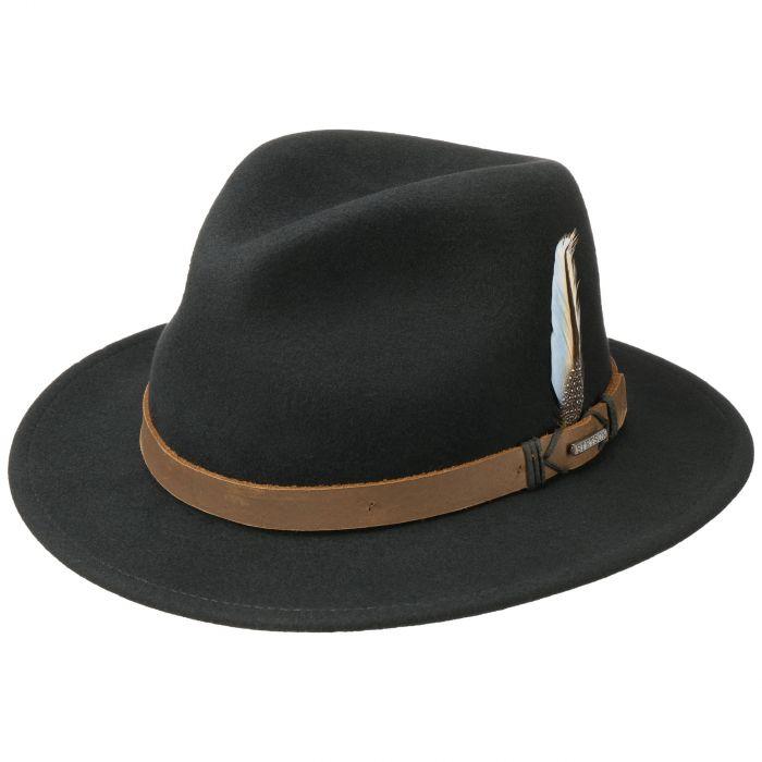 Rivaton Traveller VitaFelt Hat black