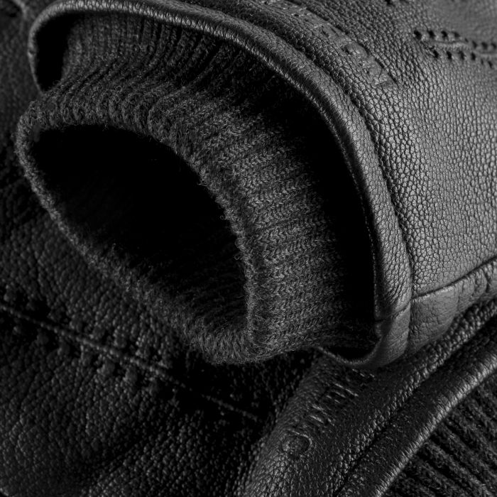 Classic Goat Nappa Leather Gloves black