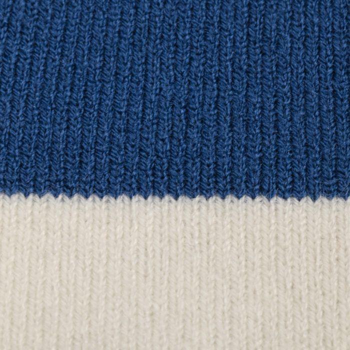 Highway Beanie Hat blue-white