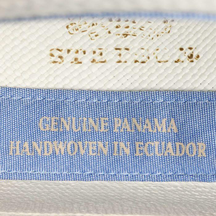 Rushworth Traveller Panama Hat cream white